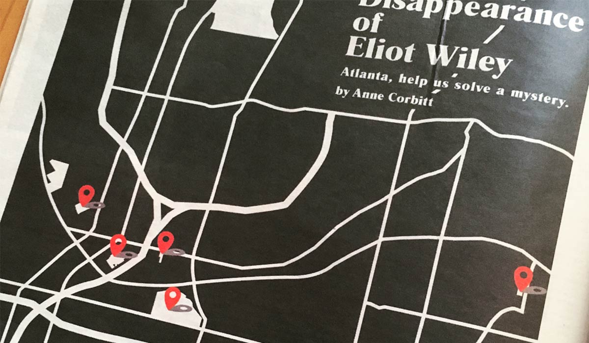 ATL Mysteries The Disappearance of Eliot Wiley by Anne Corbitt
