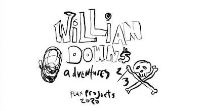 Title page for William Downs Adventures 2/3