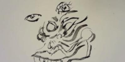Ink wash animation still